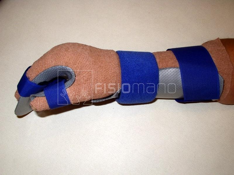 Tutore di riposo con bendaggio compressivo anti-edema